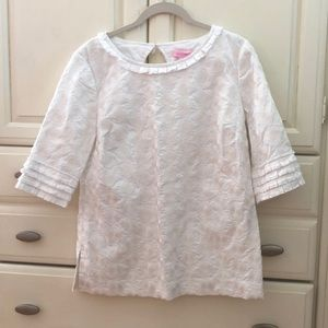 Lilly Pulitzer White Blouse